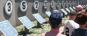 Yankee Stadium's Monument Park